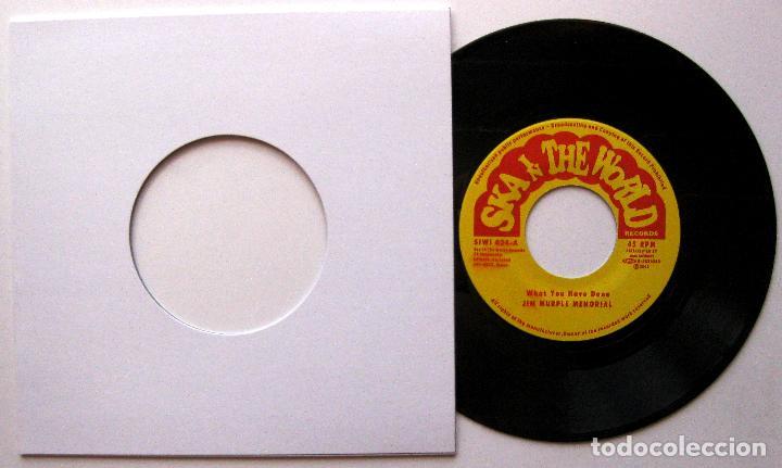 JIM MURPLE MEMORIAL - WHAT YOU HAVE DONE - SINGLE SKA IN THE WORLD 2005 JAPAN BPY (Música - Discos - Singles Vinilo - Reggae - Ska)