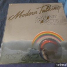 Discos de vinilo: EXPRO LP MODERN TALKING ROMANTIC WARRIORS THE 5 TH ALBUM OCHENTERO ESTADO ACEPTABLE. Lote 212620247