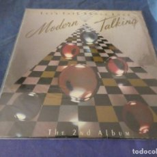 Discos de vinilo: EXPRO LP MODERN TALKING LET´S TALK ABOUT LOVE ESPAÑA 1985 THE SECOND ALBUM BUEN ESTADO. Lote 212623157