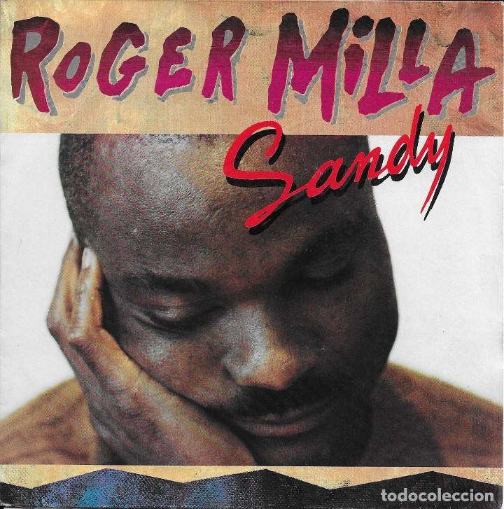 ROGER MILLA SANDY COLUMBIA 1991 (Música - Discos - Singles Vinilo - Funk, Soul y Black Music)