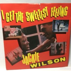 Discos de vinilo: SNGLE JACKIE WILSON - IT GET THE SWEETEST FEELING/ LONELY TEARDROPS. Lote 212627655