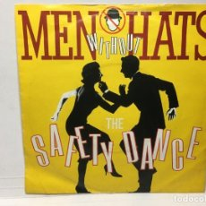 Dischi in vinile: SNGLE MEN WITHOUT HATS - THE SAFETY DANCE / SECURITY. Lote 212644631