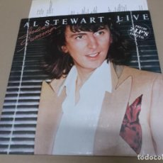 Discos de vinil: AL STEWART (LP) INDIAN SUMMER - LIVE AÑO – 1981 – DOBLE DISCO PORTADA ABIERTA – HOJA CON LETRAS. Lote 212652378