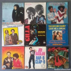 Discos de vinilo: LOTE VINILOS EPS DANCE EVELYN KING INTUITION OTTAWAN ODYSSEY GILLA THE RITCHIE FAMILY LEON HAYWOOD. Lote 212652750