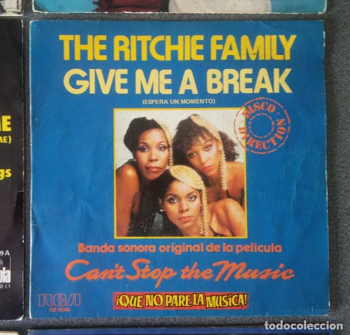 Discos de vinilo: Lote vinilos Eps dance Evelyn King Intuition Ottawan Odyssey Gilla The Ritchie Family Leon Haywood - Foto 12 - 212652750