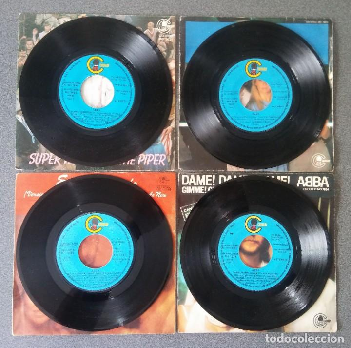 Discos de vinilo: Lote Single Ep Abba Super Trouper Voulez Vous Estoy Soñando Dame Dame Dame - Foto 2 - 212653630