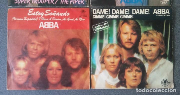 Discos de vinilo: Lote Single Ep Abba Super Trouper Voulez Vous Estoy Soñando Dame Dame Dame - Foto 4 - 212653630
