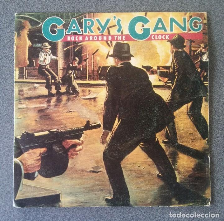 SINGLE EP GARY S GANG ROCK AROUND THE CLOCK (Música - Discos de Vinilo - EPs - Disco y Dance)