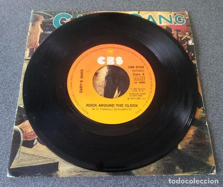 Discos de vinilo: Single Ep Gary s Gang Rock Around the Clock - Foto 2 - 212654278