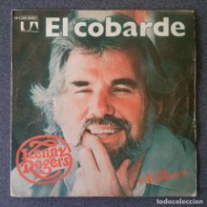 Discos de vinilo: SINGLE EP KENNY ROGERS EL COBARDE. Lote 212654468