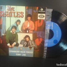 Discos de vinilo: THE BEATLES PENNY LANE, LOVE YOU TO + 2 EP PORTUGAL 1967 PEPETO TOP. Lote 212656427