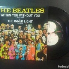 Discos de vinilo: THE BEATLES WITHIN YOU WITHOUT TOU + 3 EP MEJICO 1971 PEPETO TOP. Lote 212656446