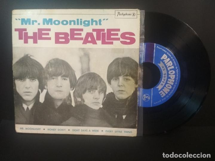 THE BEATLES MR.MOONLIGHT, HONEY DONT +2 EP PORTUGAL 1965 PEPETO TOP (Música - Discos de Vinilo - EPs - Pop - Rock Internacional de los 50 y 60	)