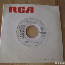 Discos de vinilo: SINGLE MIRASOL COLORES COLGADITO POR EL MUNDO / LA PALOMA RCA PROMO. Lote 212663988