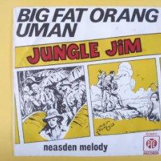 Discos de vinilo: BIG FAT ORANG UMAN - SPAIN PS - JUNGLE JIM (SE VENDE SOLO LA PORTADA SIN VINILO EN EL INTERIOR). Lote 212666682