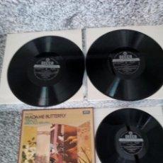 Discos de vinilo: MADAME BUTTERFLY DE PUCCINI.CAJA CON 3LPS.. Lote 212676067