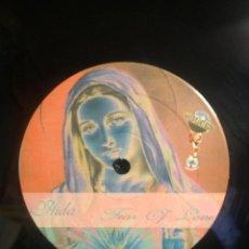Discos de vinilo: AIDA FEAR OF LOVE /FEAR OF LOVE / 4 VERSIONES / VER FOTO ADICIONAL PEPETO. Lote 227026950