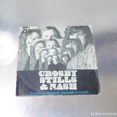 Disques de vinyle: CROSBY & STILLS & NASH EL EXPRESO DE MARRAKETH / ESPERANDO SIN REMEDIO ( -NEAR MINT ( M ). Lote 212690846