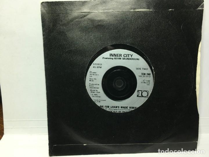 SINGLE INNER CITY - BG FUN / BIG FUN (Música - Discos - Singles Vinilo - Techno, Trance y House)