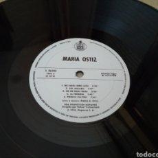 Discos de vinilo: 38-LP VINILO SIN SOBRE DE CARTÓN. MARÍA OSTIZ. Lote 212711351