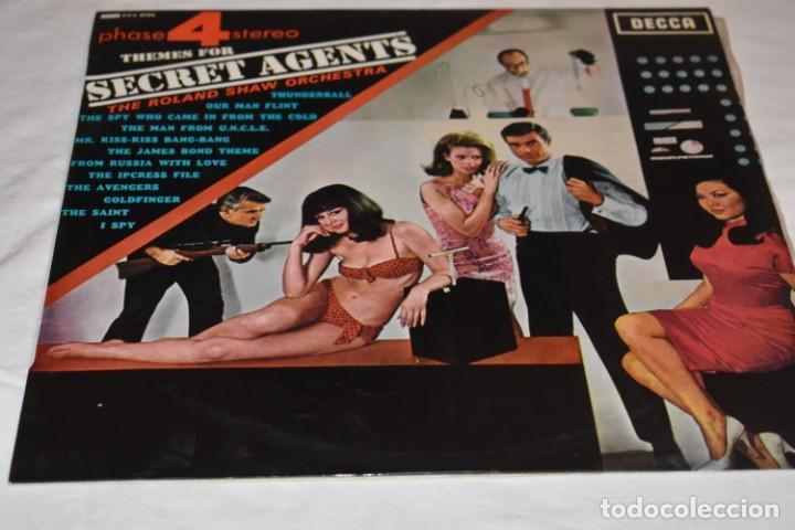 DISCO VINILO LP THEMES FOR SECRET AGENTS THE ROLAND SHAW ORCHESTRA PHASE 4 STEREO 1966 (Música - Discos - LP Vinilo - Orquestas)