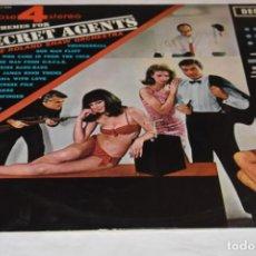 Discos de vinilo: DISCO VINILO LP THEMES FOR SECRET AGENTS THE ROLAND SHAW ORCHESTRA PHASE 4 STEREO 1966. Lote 212724872