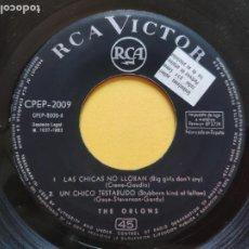 Discos de vinilo: ORLONS - EP SPAIN - LAS CHICAS NO LLORAN ( BIG GIRL'S DON' T CRY ) + 3 * RARO * VER FOTOS. Lote 212740398