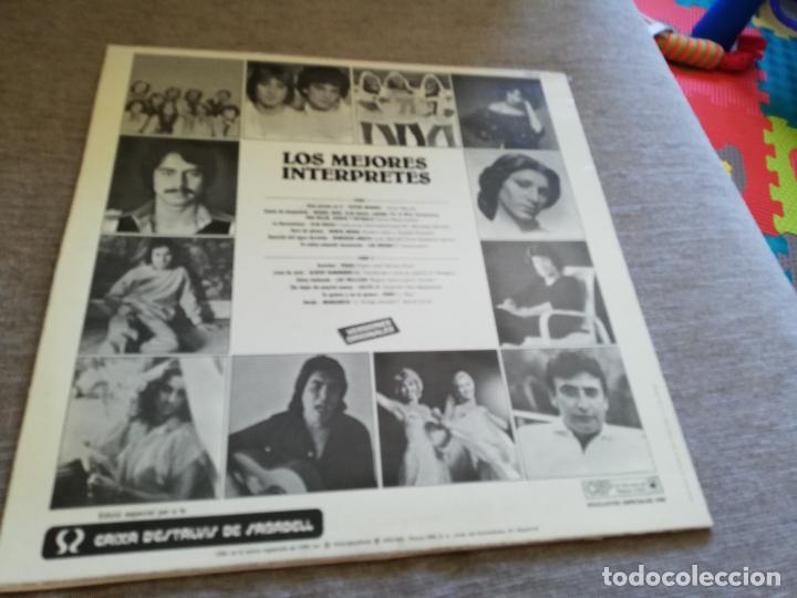Discos de vinilo: Los mejores interpretes_miguel bose, Ana Belén, las trillizas.. Lp - Foto 2 - 212776392