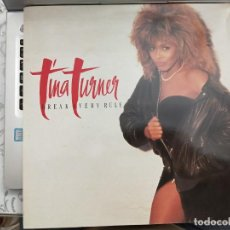 Disques de vinyle: TINA TURNER - BREAK EVERY RULE (LP, ALBUM) 1986. SELLO:CAPITOL RECORDS CAT. Nº: 074-2406111. Lote 212778573