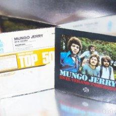 Discos de vinilo: MUNGO JERRY ---- IN THE SUMMERTIME & MIGHTY MAN ---Nº 1 EN U.K. TOP 50 --- NEAR MINT ( NM OR M- ). Lote 190556832