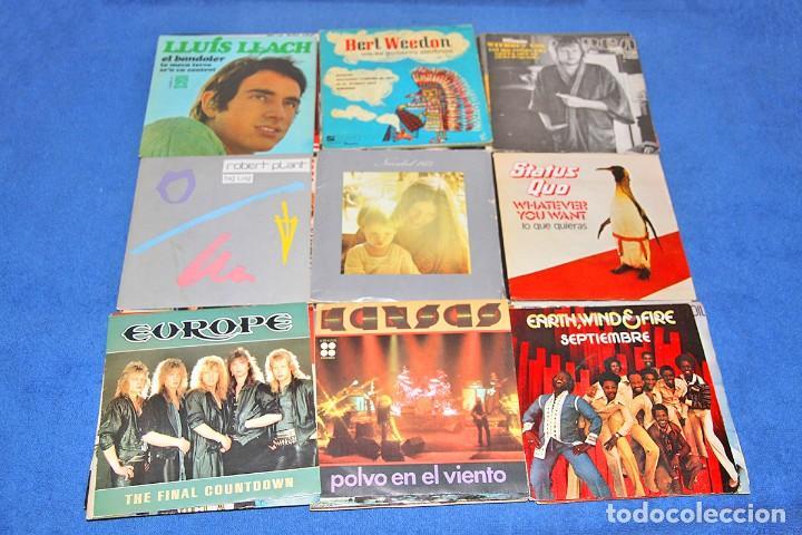 Discos de vinilo: LOTE DE 56 MAXI SINGLES DE ROCK, POP Y MÁS - EN BUEN ESTADO - Foto 6 - 210283793