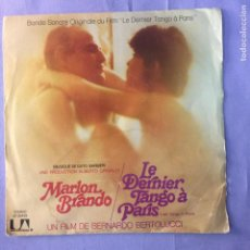 Discos de vinilo: SINGLE MARLON BRANDO - LE DERNIER TANGO À PARIS - G. Lote 212788133