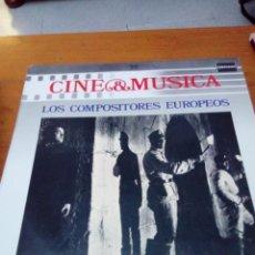 Discos de vinilo: CINE Y MÚSICA. LOS COMPOSITORES EUROPEOS. C2V. Lote 212790391
