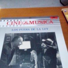 Discos de vinilo: CINE Y MÚSICA.39. LOS FUERA DE LA LEY. C2V. Lote 212790577