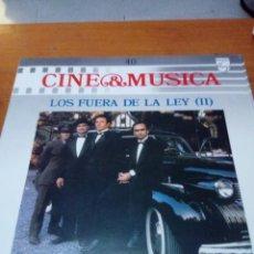 Discos de vinilo: CINE Y MÚSICA. 40. LOS FUERA DE LA LEY. II. C2V. Lote 212790763