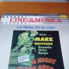 Discos de vinilo: CINE Y MÚSICA. 41. LA OPERA EN EL CINE C2V. Lote 212790895