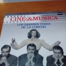 Discos de vinilo: CINE Y MÚSICA. 43. LOS GRANDES TEMAS DE LA COMEDIA. C2V. Lote 212791331