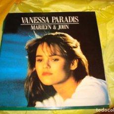 Discos de vinilo: VANESSA PARADIS. MARILYN & JOHN. POLYDOR, 1988. MAXI-SINGLE. IMPECABLE (#). Lote 212791661
