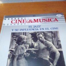 Discos de vinilo: CINE Y MÚSICA. 49. EL JAZZ Y SU INFLUENCIA EN EL CINE. C2V. Lote 212791982