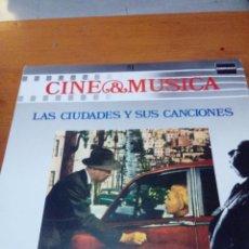 Discos de vinilo: CINE Y MÚSICA. 51. LAS CIUDADES Y SUS CANCIONES. C2V. Lote 212792175