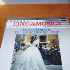 Discos de vinilo: CINE Y MÚSICA. 52. VALSES FAMOSOS DE LA HISTORIA DEL CINE. C2V. Lote 212792378