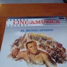 Discos de vinilo: CINE Y MÚSICA. EL MUNDO ANTIGUO. C2V. Lote 212792636