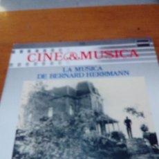 Discos de vinilo: CINE Y MÚSICA. 58.LA MÚSICA DE BERNARD HERRMANN. C2V. Lote 212793017