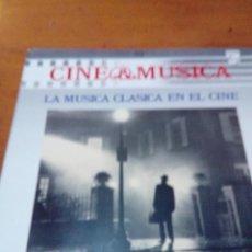 Discos de vinilo: CINE Y MÚSICA. LA MÚSICA CLASICA EN EL CINE. C2V. Lote 212793208