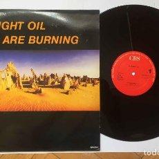 Discos de vinilo: MAXI SINGLE: MIDNIGHT OIL (BEDS ARE BURNING). CBS, 1987. ORIGINAL ¡COLECCIONISTA!. Lote 227821735