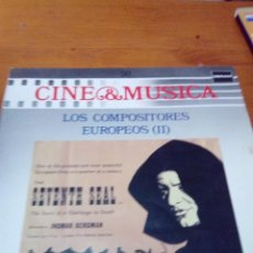 Discos de vinilo: SIN DISCO. SOLAMENTE LA FUNDA. CINE Y MÚSICA. LOS COMPOSITORES EUROPEOS II. C2V. Lote 212794077