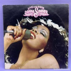Discos de vinilo: LP LIVE AND MORE DONNA SUMMER - G. Lote 212799236