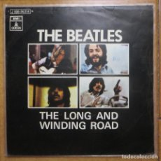 Discos de vinilo: THE BEATLES - SINGLE THE LONG AND WINDING ROAD. BUEN ESTADO (EDICIÓN ESPAÑOLA). Lote 212808317
