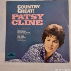 Discos de vinilo: PATSY CLINE. COUNTRY GREAT! MCA-736. USA 1980 REEDICIÓN. Lote 212812028