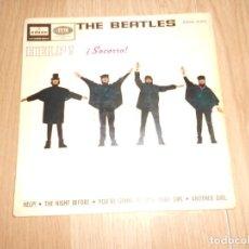Disques de vinyle: THE BEATLES - HELP SOCORRO - ODEON 1965. Lote 212819780
